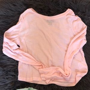 Super Soft Cropped Long Sleeve Top